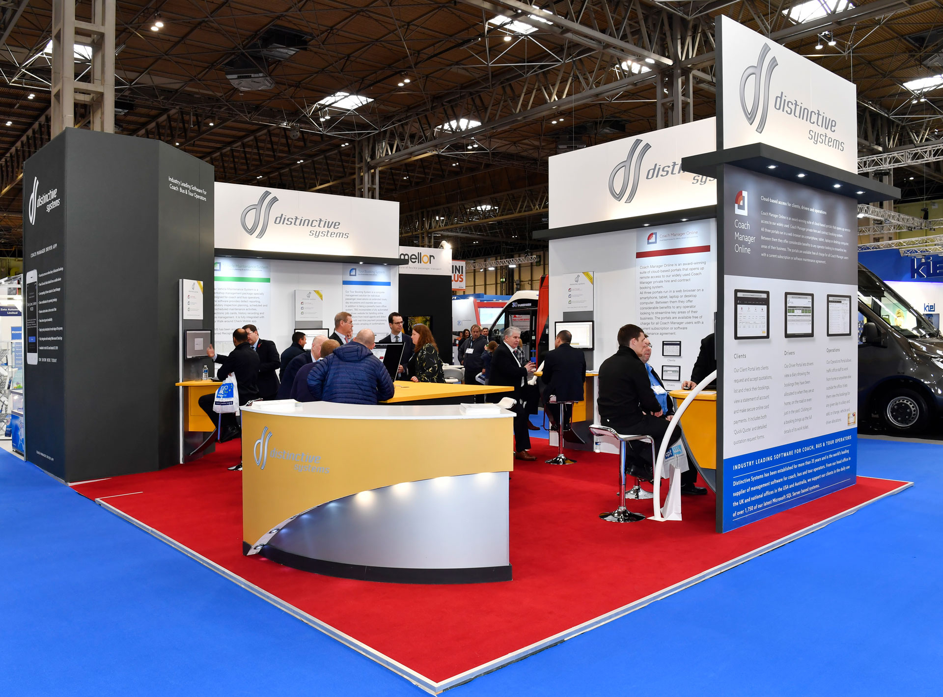 Distinctive Systems at Euro Bus Expo 2018