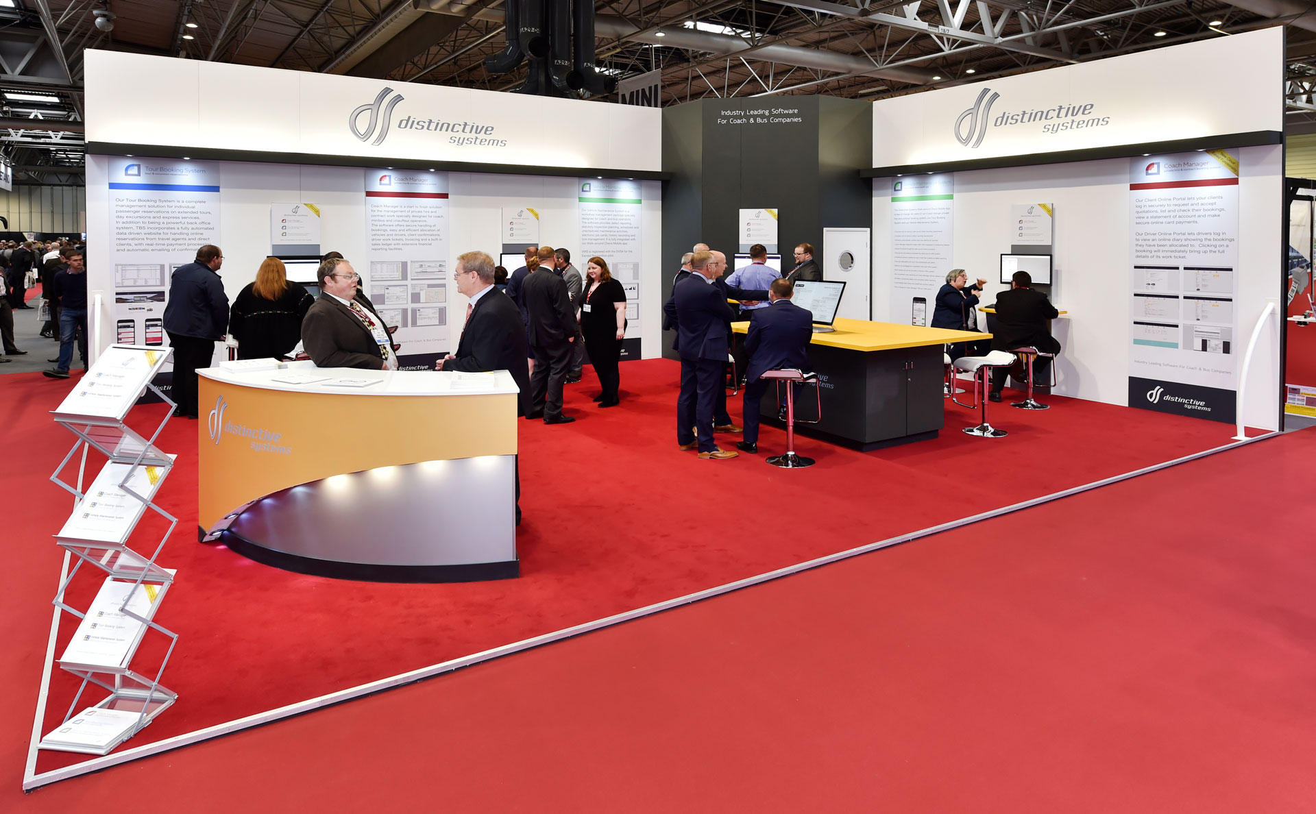 Distinctive Systems at Coach & Bus Live 2017