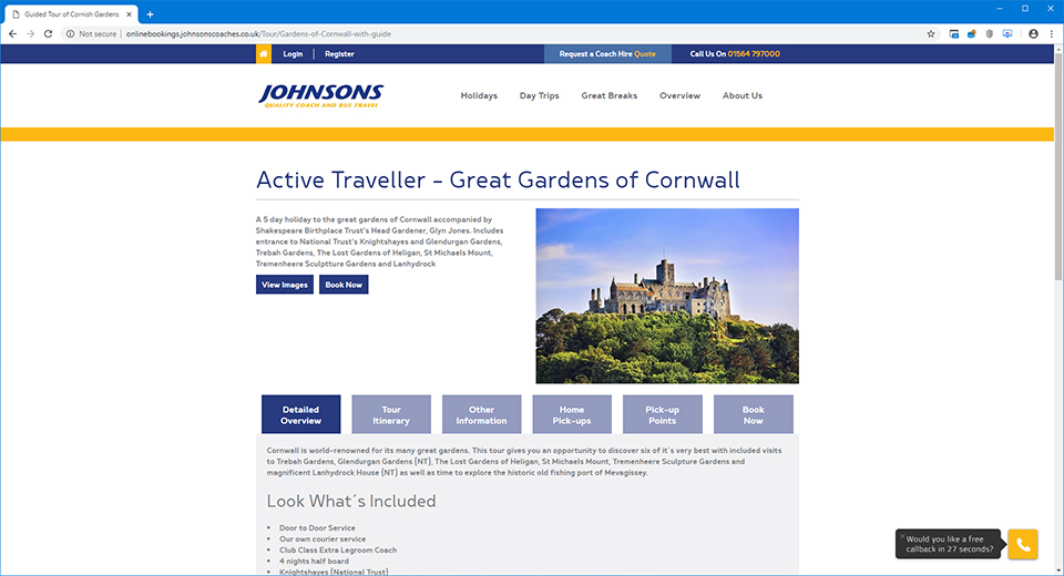 Johnsons Quality Coach Travel