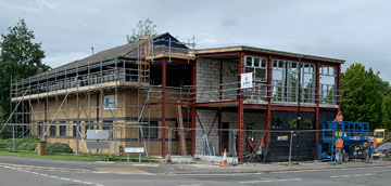 New Client Training Centre Construction Now Well Underway
