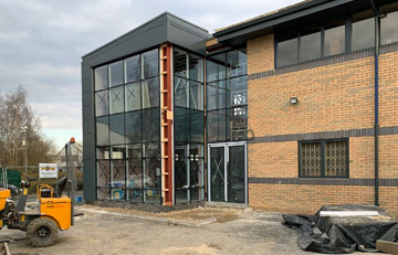 New UK Client Training Centre Approaching Completion